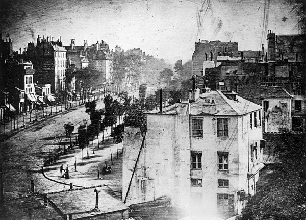 Very first photograph by Daguerres